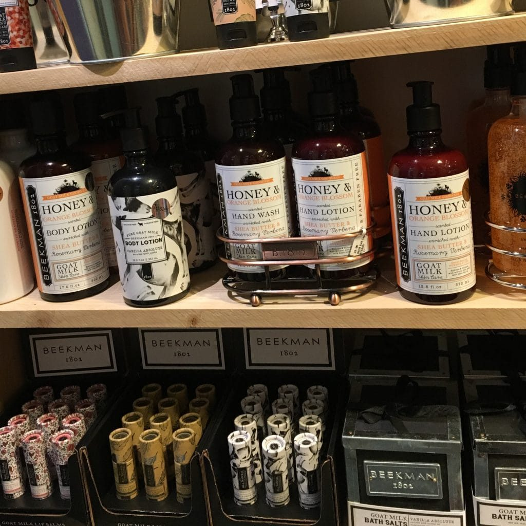 Beekman 1802 Shelf Shot